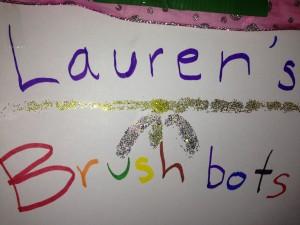 Sign- brushbot